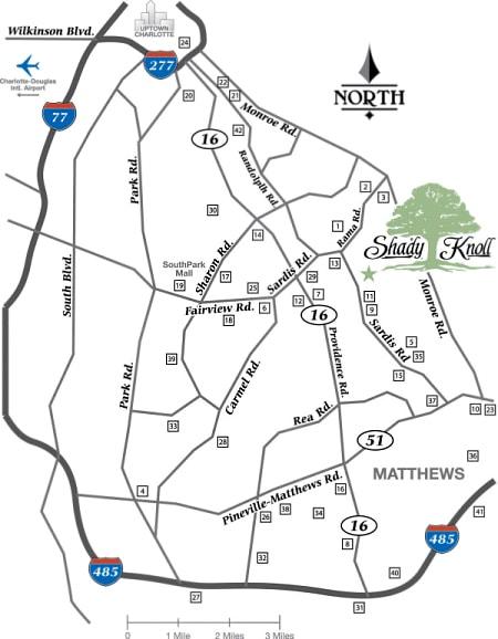 ShadyKnoll Map